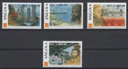 Angola. 1996. Y&T 987/90 **. Cote Stanley-Gibbon 2015 : 4,20 £ - Angola