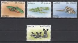 Angola. 1996. Y&T 1027/30 **. Cote Stanley-Gibbon 2015 : 3,90 £ - Angola