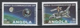 Angola. 1995. Y&T 957/58 **. Cote Stanley-Gibbon 2015 : 3,40 £ - Angola