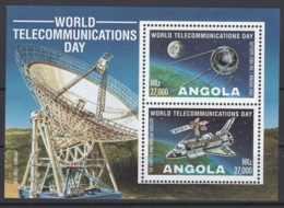 Angola. 1995. Y&T BL N° 18 **. Cote Stanley-Gibbon 2015 : 3,50 £ - Angola