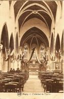 BLEGNY - L'Intérieur De L'Eglise - N'a Pas Circulé - Papeterie Nihant, Blégny - Blegny