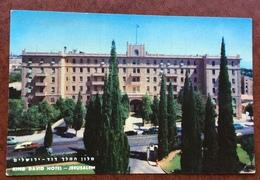 KING DAVID HOTEL JERUSALEM -  CARTOLINA BETTER BY AIR BEST BAY KLM - Israele