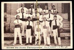Société Des Joutes Clamecycoises- Fête De Joigny Le 25 Juin 1933 - Clamecy