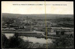 Clamecy: Société Des Produits Chimiques, Vue Générale De L'usine - Clamecy