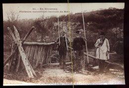En Nivernais: Flotteurs Surveillant L'arrivée Du Bois,  Photo Reproduction De CP (A VOIR Second Scan) - Professions