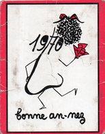 CALENDRIER DE POCHE 1970.VALENCIENNES(NORD).MAGASIN DELSAUT,RUE DE LA PAIX. HUMOUR. En Achat Immédiat - Calendars