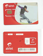 MADAGASCAR MADAGASKAR  Carte SIM NEUVE  /  MALAGASY NEW SIM Card AIRTEL MADAGASCAR - Madagascar