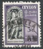 Ceylon. 1951-54 Definitives, 3c Used. SG 420 - Sri Lanka (Ceylon) (1948-...)
