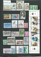 France , Lot De 30 Timbres De L'année 1991 / 1992, Oblitérés à Trier - Ava252 - France