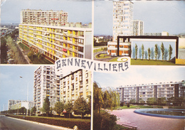 CPSM 92 @ GENNEVILLIERS @ Les Immeubles Vers 1969 - Gennevilliers