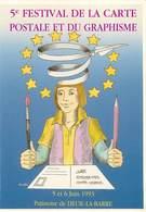 Illustrateurs - Illustrateur R. Busillet - Enghien Les Bains - Patinoire De Deuil La Barre - Autographe - Signature - Altre Illustrazioni