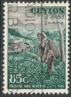 Ceylon. 1951-54 Definitives, 85c Used. SG 427 - Sri Lanka (Ceylon) (1948-...)