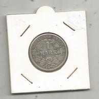 Monnaie, Allemagne , 1 Mark , Deutsches Reich,1875 F , Argent, 4 Scans - [ 2] 1871-1918: Deutsches Kaiserreich