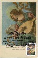 37733 U.s.a.  Maximum 1982, Painting Of Melozzo Da Forli,  Angel,  Vintage Card, - Maximumkarten (MC)