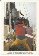 10x15 Metier  Releve Du Gardien Du Phare D'Ars-Men  Par M.Thersiquel  Aventure Carto - France