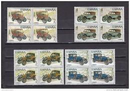 España Nº 2409 Al 2412 En Bloque De Cuatro - 1971-80 Unused Stamps