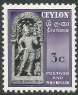 Ceylon. 1951-54 Definitives, 3c MH. SG 420 - Sri Lanka (Ceylon) (1948-...)