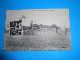 17 ) Saintes - N° 133 - Courses De Chevaux - L'arrivèe   : Année 1908 : EDIT : Prevost - Saintes