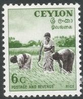 Ceylon. 1951-54 Definitives, 6c MH. SG 421 - Sri Lanka (Ceylon) (1948-...)