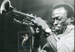 37735 U.s.a. Maximum 2012,  Miles Davis,  Jazz Composer, Trumpeter  Tronpeter - Maximumkarten (MC)