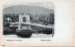 MUCKSNA MT. & BRIDGE (Irland) - KENMARE-KERRY, Litho Um 1898, Sehr Seltene Karte In Sehr Guter Erhaltung - Kerry