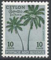 Ceylon. 1951-54 Definitives, 10c MH. SG 422 - Sri Lanka (Ceylon) (1948-...)