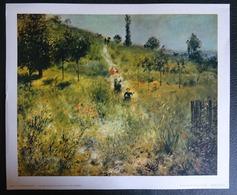 Auguste Renoir - Chemin Montant Dans Les Hautes Herbes - - Non Classificati