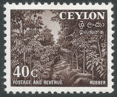 Ceylon. 1951-54 Definitives, 40c MH. SG 425 - Sri Lanka (Ceylon) (1948-...)