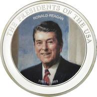 United States Of America, Médaille, Les Présidents Des Etats-Unis, Ronald - Etats-Unis