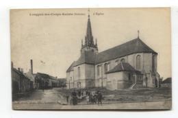 Longpré-les-Corps-Saints (80) - L'Eglise - CPA - Other Municipalities