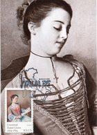37736 U.s.a. Maximum  1985 Painting Of Etienne Liotard,woman Reading A Letter (photocard) - Maximumkarten (MC)