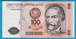 PERU 1000 INTIS 26.06.1987 SERIE A 930...X P# 133  Ramón Castilla - Perú