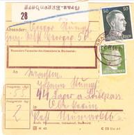 III. Reich, Postbegleitadresse, Graz - Eggenberg Nach  SS Lager Am Loiblpass, Post Neumarktl,  Tržič  ( Slowenien) - Allemagne