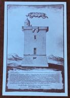 CERVIA  PROGETTO  DELLA TORRE S.MICHELE (1687) CON BOLLA DI PAPA INNOCENZO XII   N.V. - Other