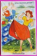 Carte à Système Jullouville 10 Vues Carte Postale 50 Manche Rare Proche Granville Carolles - Non Classés