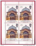 GB 1990 Block Of 4 With Margins - 20p Alexandra Palace With Europa Logo SG 1493 UM/ MNH - 1952-.... (Elizabeth II)