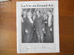 LA VIE AU GRAND AIR N°579 DU 23 OCTOBRE 1909 LE COMTE DE LAMBERT ET M. EIFFEL,QUINZAINE D'AVIATION A JUVISY,PARIS BRUXEL - Books, Magazines, Comics