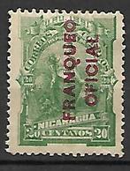 NICARAGUA     -   Service /  Oficial   -   1891.  Y&T N° 15 * - Nicaragua