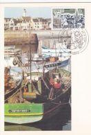 Port Breton - Europa - Carte 1er Jour - Bretagne