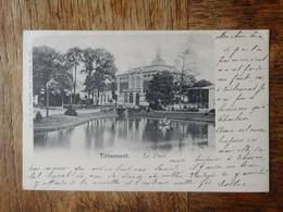 Tirlemont 1902 Le Parc / Ed. F.D.R. Papeterie, Sarly-tirlemont - Tienen
