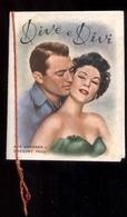 CALENDARIETTO DEL 1955 DI CORATO - DIVI: AVA GARDNER - GREGORY PECK - MARILYN MONROE - YVONNE DE CARLO - SHELLEY WINTERS - Calendars