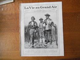 LA VIE AU GRAND AIR N°547 DU 13 MARS 1909 LE BOXEUR JEFFRIES, BOUIN GAGNE LE CRITERIUM NATIONAL A AMIENS,MORT DE THERY - 1900 - 1949