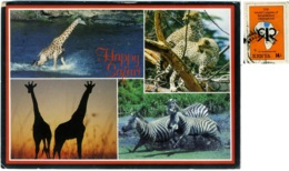 KENYA  KENIA  Happy Safari  Animals Nice Stamp - Kenia