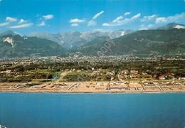 Cartolina Ronchi Marina Di Massa Panorama Aereo 1981 - Massa