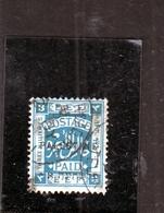 PALESTINE PALESTINA 1922 3m USATO USED OBLITERE' - Palestina