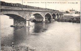 42 - ROANNE --  Pont Du Chemin De Fer Sur La Loire - Riorges