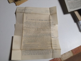 Courrier, De La, BANQUE Parisienne De Crédit, Pour Le Journal Des Finances , 1905 - Reclame