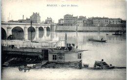 42 - ROANNE -- Quai Des Balmes - Riorges