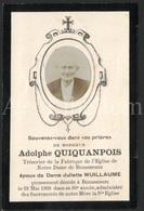 Doodsprentje / Bidprentje / Avis De Décès / Adolphe Quiquandpois / Bonsecours / 1908 / 2 Scans / Bon-Secours - Décès