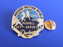 Pin's Base Ball Baseball Dodgers - Record Setting Infield - Lopes Russel Cey Garvey (PS9) - Baseball